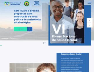 saudeocular.org.br screenshot