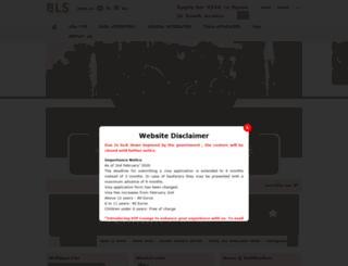 saudi.blsspainvisa.com screenshot