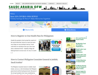 saudiarabiaofw.com screenshot