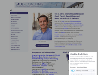 sauercoaching.de screenshot