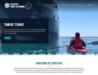saulttourism.com screenshot
