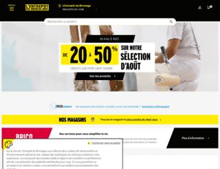saumur.e-bricodrive.fr screenshot
