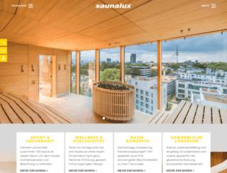 saunalux.de screenshot