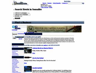 sausalito.com screenshot
