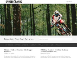 sauserwind.com screenshot