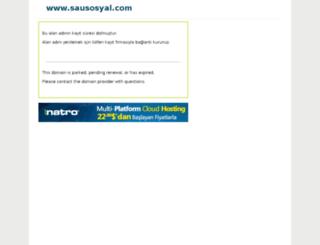 sausosyal.com screenshot
