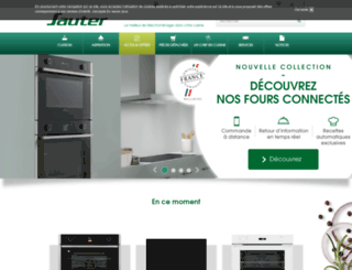 sauter-electromenager.com screenshot