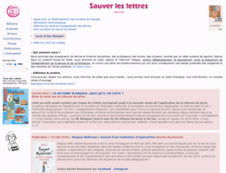 sauv.net screenshot
