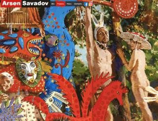 savadov.com screenshot
