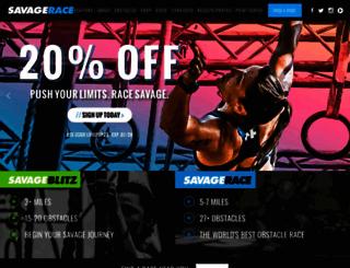 savagerace.com screenshot