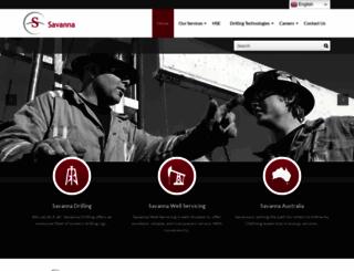 savannaenergy.com screenshot