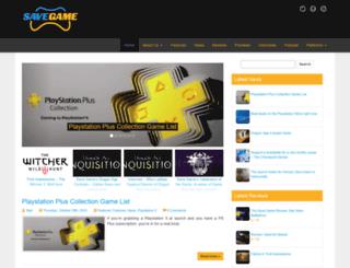 savegameonline.com screenshot