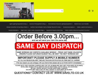 saveltd.co.uk screenshot