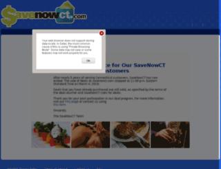 savenowct.com screenshot