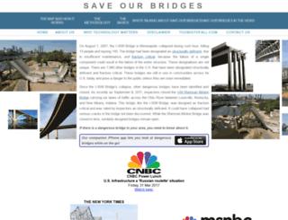 saveourbridges.com screenshot