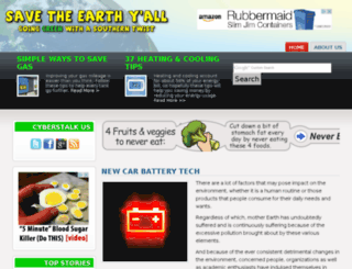 savetheearthyall.com screenshot