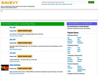 savevy.com screenshot