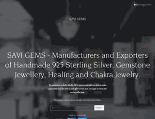 savigems.com screenshot