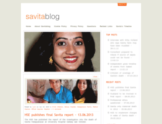 savitablog.net screenshot