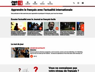 savoirs.rfi.fr screenshot