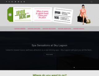 savoirthere.com screenshot
