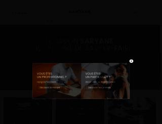 savon-d-alep.com screenshot