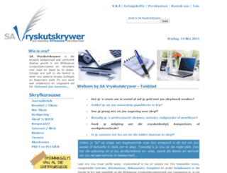 savryskutskrywer.co.za screenshot