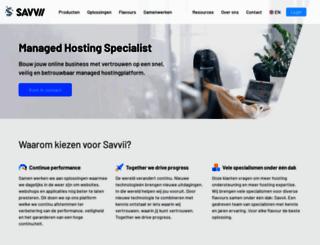 savvii.nl screenshot