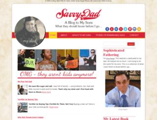 savvydad.com screenshot