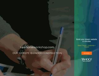 sawhorseworkshop.com screenshot