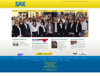 sax-online.de screenshot