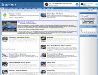 sax-p.com screenshot