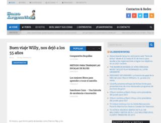 saxoargentina.com.ar screenshot