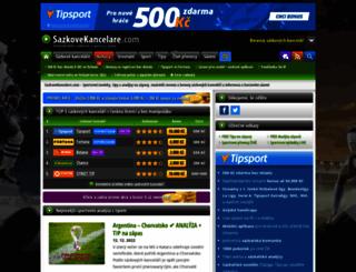 sazkove-kancelare.com screenshot