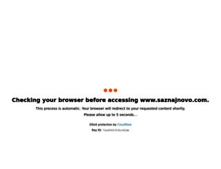 saznajnovo.com screenshot