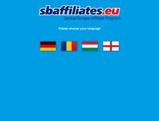 sbaffiliates.eu screenshot
