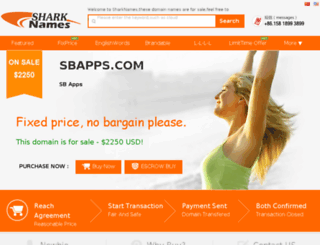 sbapps.com screenshot