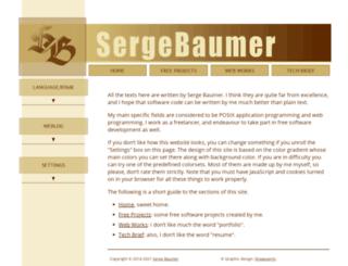 sbaum.info screenshot