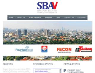 sbav-hanoi.org screenshot