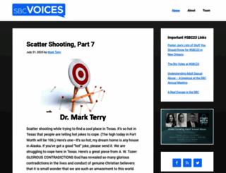 sbcvoices.com screenshot