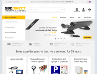sbedirect.com screenshot
