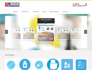 sbeelifesciences.com screenshot