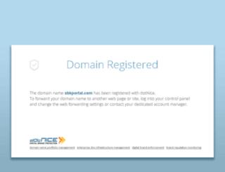 sbkportal.com screenshot