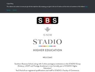 sbs.ac.za screenshot
