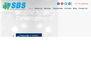 sbsgroupsolutions.com screenshot