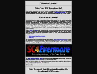 sc4devotion.com screenshot