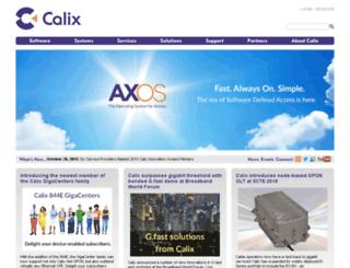 sc9prod.calix.com screenshot