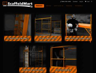 scaffoldmart.com screenshot