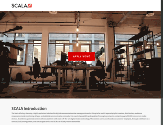 scala.nl screenshot