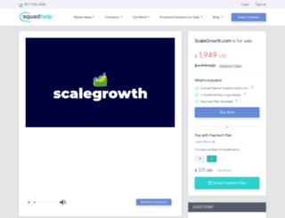 scalegrowth.com screenshot